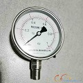 PRESSURE GAUGE 100MM,3/8IN,MALE,BOTTOM,BRASS,0-10KG/CM2G