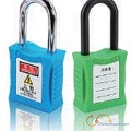 Engineering plastic steel safety padlock 201